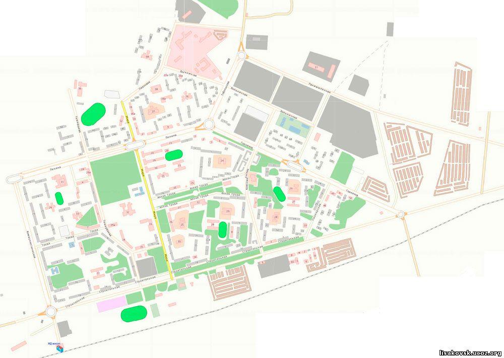 Скачать Карту Города Рудного